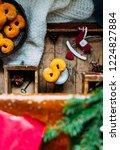 swedish christmas. gluten free...   Shutterstock . vector #1224827884