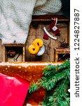 swedish christmas. gluten free...   Shutterstock . vector #1224827887