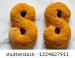 swedish christmas. gluten free...   Shutterstock . vector #1224827911