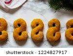 swedish christmas. gluten free...   Shutterstock . vector #1224827917