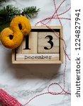 swedish christmas. gluten free...   Shutterstock . vector #1224827941