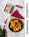 swedish christmas. gluten free...   Shutterstock . vector #1224827971