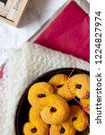 swedish christmas. gluten free...   Shutterstock . vector #1224827974