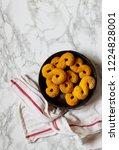 swedish christmas. gluten free... | Shutterstock . vector #1224828001