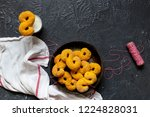 swedish christmas. gluten free...   Shutterstock . vector #1224828031