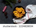 swedish christmas. gluten free...   Shutterstock . vector #1224828034