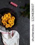 swedish christmas. gluten free...   Shutterstock . vector #1224828037