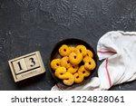 swedish christmas. gluten free...   Shutterstock . vector #1224828061