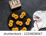 swedish christmas. gluten free...   Shutterstock . vector #1224828067