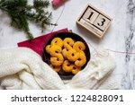 swedish christmas. gluten free...   Shutterstock . vector #1224828091