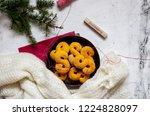swedish christmas. gluten free...   Shutterstock . vector #1224828097