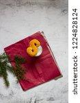 swedish christmas. gluten free...   Shutterstock . vector #1224828124