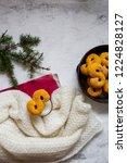 swedish christmas. gluten free...   Shutterstock . vector #1224828127