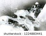 abstract graffiti background.... | Shutterstock . vector #1224883441