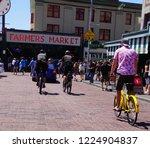 seattle   jul 15  2018   police ... | Shutterstock . vector #1224904837