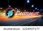 concept of electroneum coin... | Shutterstock . vector #1224937177
