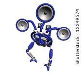 sub woofer robot | Shutterstock . vector #12249574