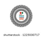 china pakistan economic...   Shutterstock .eps vector #1225030717