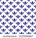 ceramic thai pattern  cute... | Shutterstock .eps vector #1225036867