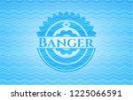 banger light blue water emblem... | Shutterstock .eps vector #1225066591