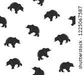 seamless pattern california... | Shutterstock .eps vector #1225067587