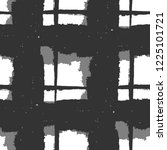 plaid. seamless grunge texture... | Shutterstock .eps vector #1225101721