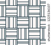 seamless pattern with geometric ... | Shutterstock .eps vector #1225136107