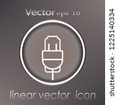 illustration of vector icons... | Shutterstock .eps vector #1225140334