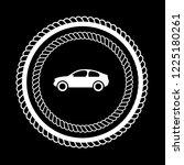car icon  car button emblem ...