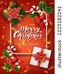 christmas design vector...   Shutterstock .eps vector #1225182241