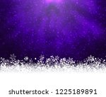 winter holiday greeting card.... | Shutterstock . vector #1225189891