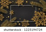christmas and new year festive...   Shutterstock .eps vector #1225194724