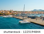 beautiful view on sea front of... | Shutterstock . vector #1225194844