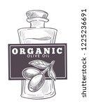 olive oil extra virgin ... | Shutterstock .eps vector #1225236691