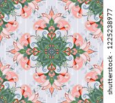 seamless pattern in indian...   Shutterstock .eps vector #1225238977