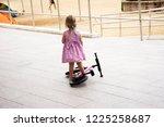english children girl practice... | Shutterstock . vector #1225258687
