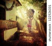 vintage urban background | Shutterstock . vector #122526331