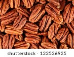Background Of Pecans  Full Size