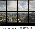 city view on building 28th floor | Shutterstock . vector #1225276627