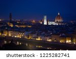 view of florence at the evening ... | Shutterstock . vector #1225282741