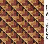 abstract decorative wooden... | Shutterstock . vector #122528995