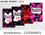 black friday sale inscription... | Shutterstock .eps vector #1225304851