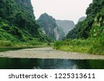 epic mountains and river scenic ... | Shutterstock . vector #1225313611