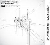 abstract background vector | Shutterstock .eps vector #122532034