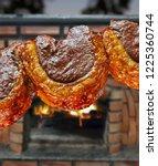 picanha  traditional brazilian... | Shutterstock . vector #1225360744