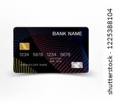 credit cards. with inspiration...   Shutterstock .eps vector #1225388104