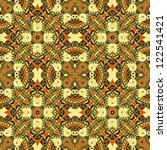 seamless colorful retro pattern ... | Shutterstock .eps vector #122541421
