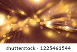 with particles and rays.  | Shutterstock . vector #1225461544