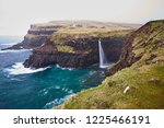 scenic landscape picture on... | Shutterstock . vector #1225466191