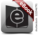 ebook button | Shutterstock . vector #122546791